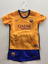 Nike BaBy Trikot Set Mit Hose und Socken FC Barcelona Gr. 24-36 Monate Neu