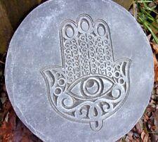 "Hamsa hand 070 abs plastic mold plaster cement casting plaque mould 10"" x 3/4"""