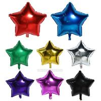 18inch Aluminum Foil Five-pointed Star Balloon Wedding Party Birthday Decor Gift