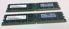 HP Qimonda 405476-051 4 GB (2x 2 GB) memoria RAM servidor PC2-5300P Ecc Reg