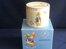 Wedgwood Peter Rabbit money box (christening)