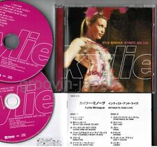 KYLIE MINOGUE Intimate & Live JAPAN 2CD set w/PS+24-p BOOKLET TNCP-17~18 Free SH