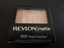 Revlon Matte Eyeshadow - PEACH SORBET  #002 - Brand New / Sealed