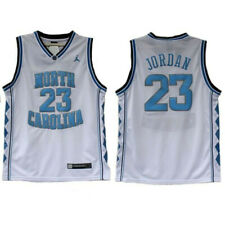 JORDAN CAMISETA DE LA NBA NORTH CAROLINA PARA NIÑOS BLANCA. TALLAS S,M,L,XL.