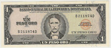 1964 DOMINICAN REPUBLIC 1 PESO ORO ~ CRISP! ~ PRICED RIGHT! INV#874