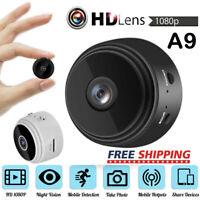 A9 HD Mini Camera 1080P IP Spy WIFI Wireless Hidden Security Night Vision NEW UK