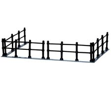 NEW LEMAX VILLAGE COLLECTION CANAL FENCE SET OF 4 #44789