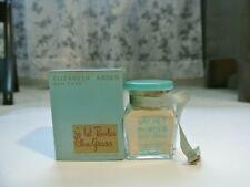 Vtg Nos 50's Elizabeth Arden New York Sachet Powder Blue Grass 3/4 oz Jar in Box