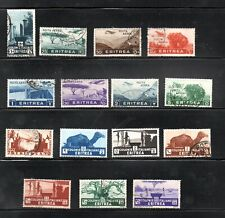 Eritrea (Italian occupation) 1930/36 old collection stamps un/used