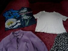 Bundle of Ladies Clothes tops jumper Jacket Size 18 to 20