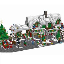 Lego MOC Custom BIG HOLIDAY CHRISTMAS HOTEL - City, Expert - INSTRUCTIONS ONLY !