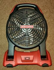 Craftsman C3 19.2 Volt 2-Speed work Battery operated Fan 315.115950 11595 Sears