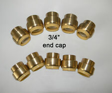 10 piece Lot of Sharkbite Style,  3/4  inch Push Fit Caps