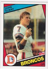 JOHN ELWAY Topps RP RC Denver Broncos ROOKIE CARD Football #7 Mint INSERT LE