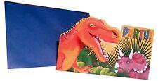 Einladungskarten Dinosaurier 8-er Packung Kindergeburtstag Party Einladung Dino