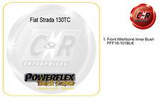 Fiat Strada 130TC Powerflex Black Complete Bush Kit