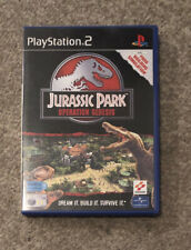 Jurassic Park Operation Genesis PlayStation PS2 Game Boxed With Manual PAL
