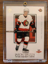 2002-03 JASON SPEZZA PACIFIC PRIVATE STOCK RESERVE ROOKIE #173 ~ SP RC /1550