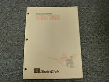 Ditch Witch 1410 1420 Walk Behind Trencher Shop Service Repair Manual Book