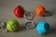 Tupperware Cupcake Shaped Keychain Pill Storage Container  Set 4 New!!