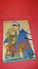 BODY B.O.D.Y. shoujo manga vol. 2 Ao Mimori english