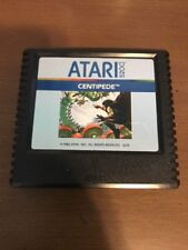 Centipede Atari 5200 1982 Vintage Video Game Cartridge Cleaned Tested Shooter