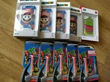 Lot Coques iPod Touch 4, Mario, Marvel