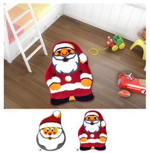 Bathroom Rug Bedroom Child Santa Claus Non-Slip 55X75cm Soft Baby