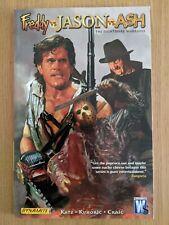 Freddy Vs Jason Vs Ash Nightmare Warriors Graphic Nov Rare Evil Dead Friday 13th