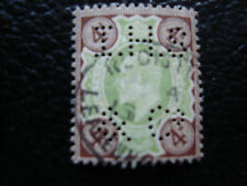 ROYAUME-UNI -timbre yvert et tellier n°112 obl (A15)stamp united kingdom(perfore