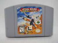 Star Wars Rogue Squadron Nintendo 64 N64 Original OEM Authentic Game!