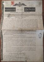 Russian 1822 Imperial Rothschild 720 Roubles NOT CANCELLED Bond Loan Stock Share