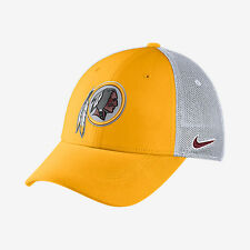 Washington Redskins new Nike Vapor Swoosh Flex Fit Hat Cap Small/Medium S/M $26