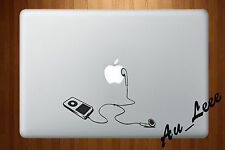 Macbook Air Pro Vinyl Skin Sticker Decal Retro iPod Music Player MP3 M408