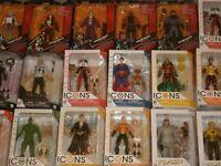 DC Comics Action Figures: Suicide Squad, Justice League, Titans, Arrow, Harley