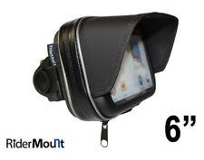"""6"""" WATERPROOF GPS SAT NAV CASE NUVI 60/65/66/67/68 motorcycle motorbike 6 inch"""