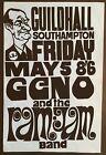 GENO WASHINGTON & THE RAM JAM GUILDHALL SOUTHAMPTON UK 1967 ORIGINAL POSTER RARE