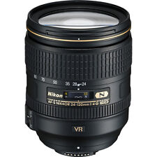 NEW Nikon Nikkor 24-120mm F/4.0 G SWM AF-S VR IF N M/A ED w/ lens Hood & Pouch