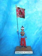 Porte drapeau 1er empire Guy Renaud - Mameluck de la garde  - Flag bearer