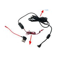 90° Hard Wire Kit Car Dash    era & DVR Exclusive Power BOX USB Car Charger