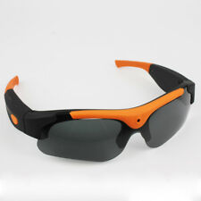 HD 1080P Polarized Sunglasses Mini Camera Black/Orange Mini DV Camcorder