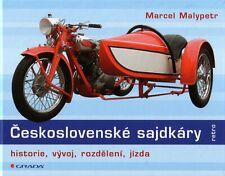 Book - Czech Sidecars Beiwagen Slovak CZ Jawa Velorex - Sajdkary - Malypetr