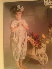 Bloomin Bloomers Young Girl's Sewing Pattern  Rompers Toddler Sizes 1- 2 -3