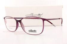 8ffd669d33f New Silhouette Eyeglass Frames Urban Lite 1572 6110 Purple SZ 54 Unisex