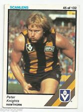 1984 Scanlens (45) Peter KNIGHTS Hawthorn Vg