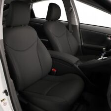 2010 2011 TOYOTA PRIUS KATZKIN LEATHER SEAT COVER COVERS COMPLETE SET CHARCOAL