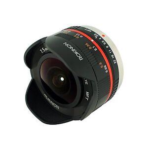 Rokinon 7.5mm F3.5 UMC Fisheye lens for Micro 4/3 m43 Panasonic Lumix DMC-GF2 G5