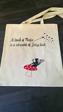 Un tocco di magia è una cospargere di polvere di fata Shopping Bag-MISTICO REGALO FANTASY