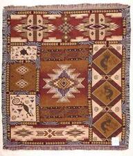 50x60 KOKOPELLI Southwest Tapestry Afghan Throw Blanket