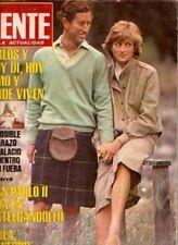 PRINCESS DIANA SPENCER RARE MAGAZINE ARGENTINA 1981